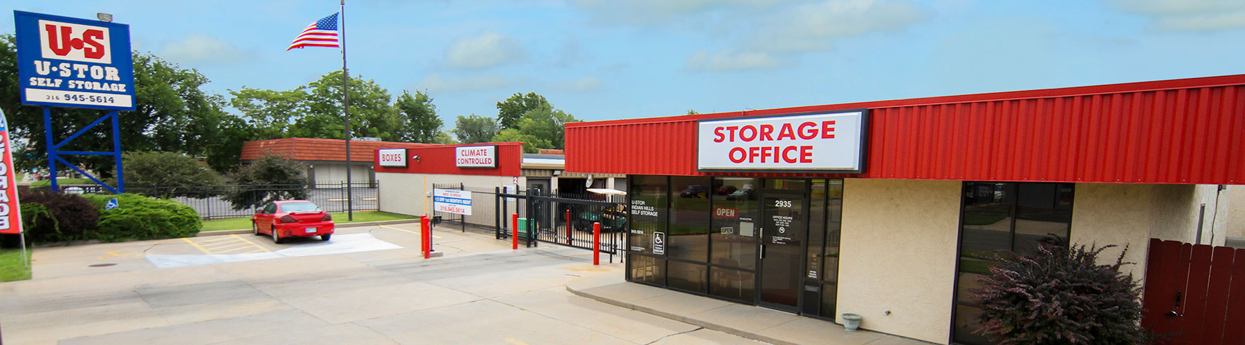 U-STOR Indian Hills is located at 2935 West 13th St, Wichita, KS. Call 316-462-2505 for information.