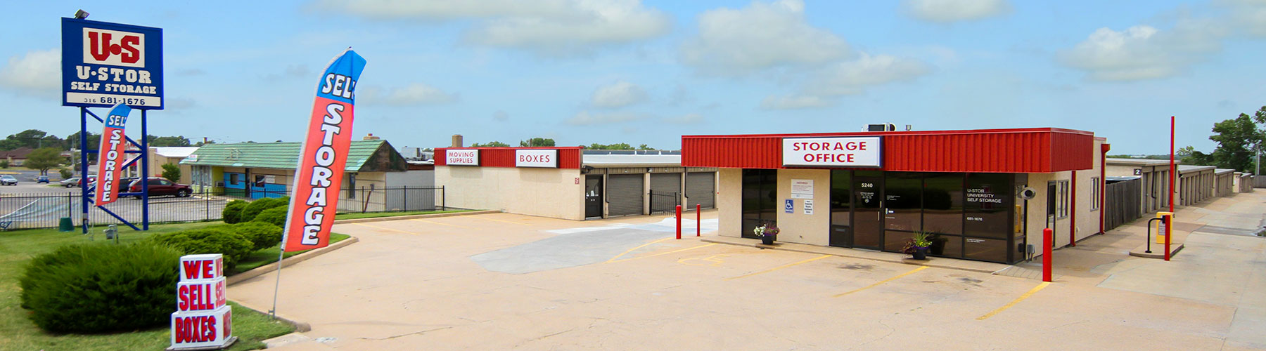 U-Stor University is located at 5240 E. 21st St, Wichita, KS. Call 316-512-4960 for information.