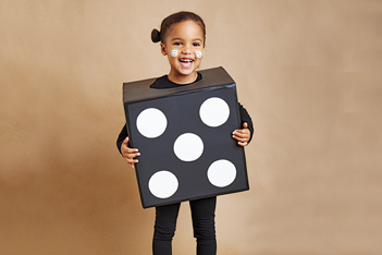 Cardboard Box Costume Ideass for Halloween