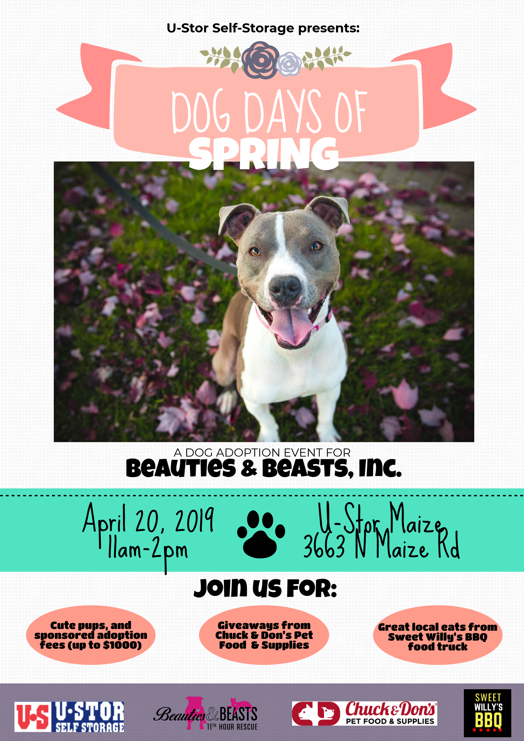 dog adoption event
