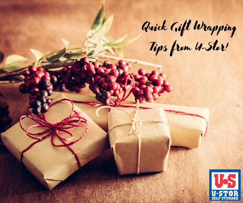 quick ways to wrap presents
