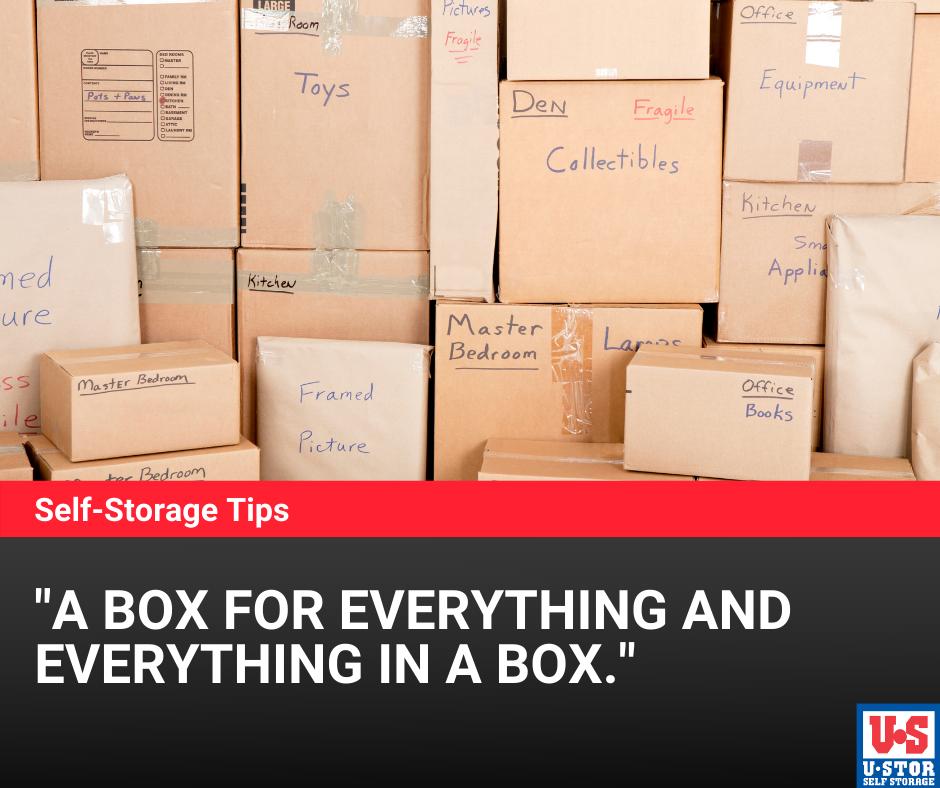 Wichita storage tips
